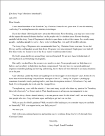 CCC appeal letter, Draft 1