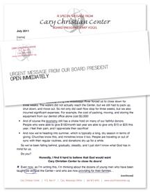 Appeal letter, draft 3