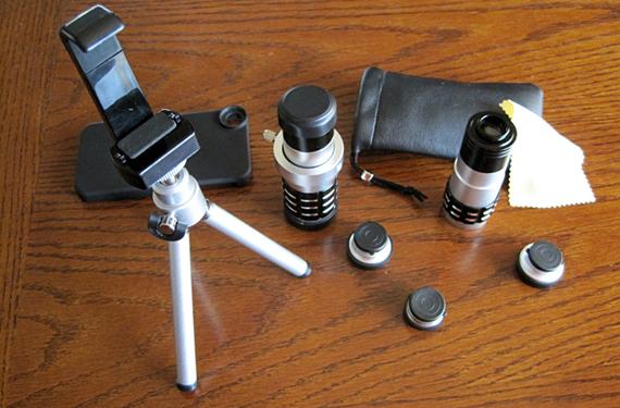 Vtec lenses for iPhone