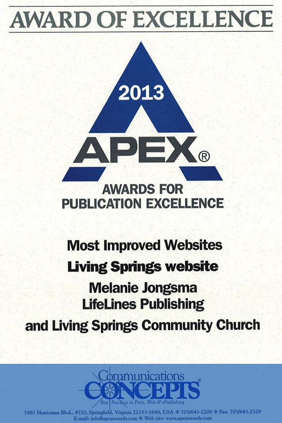 APEX website award