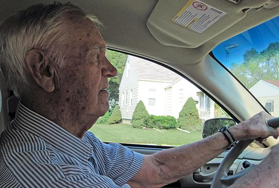 Gramp driving