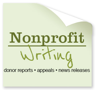donor reports, appeals, news releases, and more