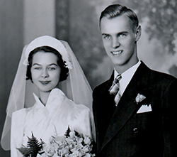 My grandparents were married for 59 years. Gram died the day after their 59th wedding anniversary.