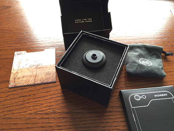 Review Moment lens