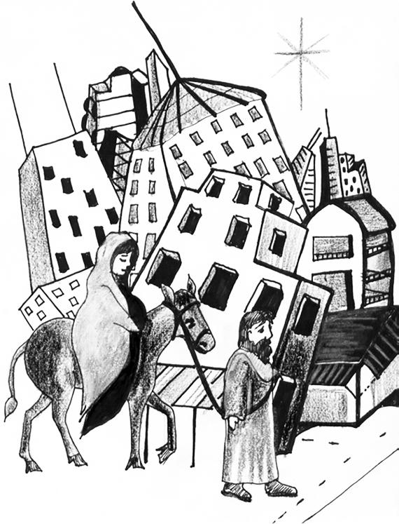 city Christmas story